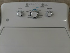 #1708 brand new GE 3.8 cubic foot washer