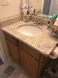 white and gray ceramic sink Snellville, 30039