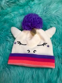 Girls Fall/Winter Hat Unicorn Design  Alexandria, 22310