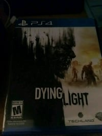 Dying Light PS4 game case Fairmont, 26554