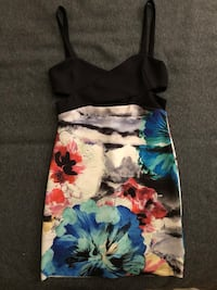 Zara floral dress- small size