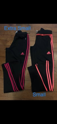 Black and pink adidas track pants Algonquin, 60102