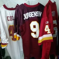 red and white NFL jersey Hagerstown