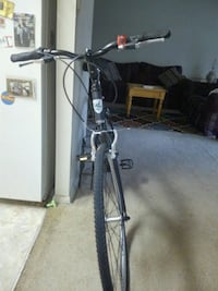 black and gray bicycle frame Beltsville, 20705