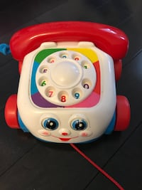 Fisher price telephone toy