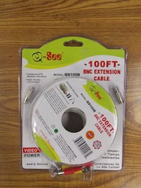 Q-See DVR Camera 100 Foot Extension Cable with Adapters Aumsville