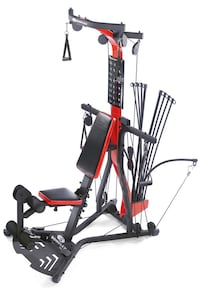 Bowflex PR3000, rods upgraded to 310lbs