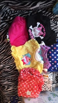 4  bags of baby girl clothes 0-3 months and 3-6 months  Moundsville, 26041