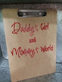 Father's Day Personalized Clioboard