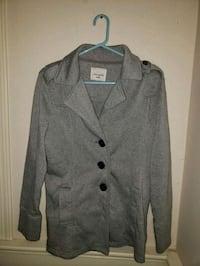 gray pea coat button up Vancouver, 98686