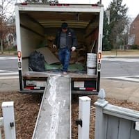 Junk Hauling & Old furniture  removal Silver Spring, 20906