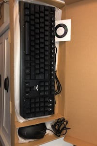 Gaming keyboard and Mouse!