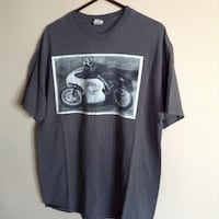 gray and black crew-neck t-shirt ANNAPOLIS