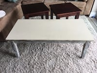Distressed wooden coffee table and end tables Waterloo, N2L