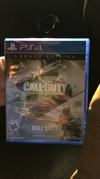 Sony PS4 Call of Duty Infinite Warfare game case