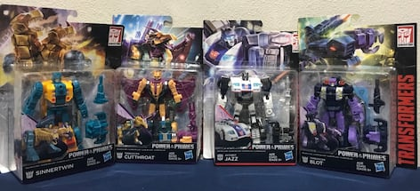New 4 Pack Transformers Generations Power of the Primes Deluxe Class