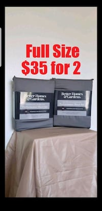 NEW FULL DOUBLE Size Sheets set bedding Mattress beds grey gray color  Ventura, 93003