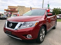 2014 Nissan Pathfinder Platinum con $2300 down Houston