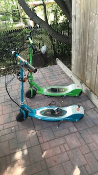 blue and green electric scooter Ottawa, K1L 8E5
