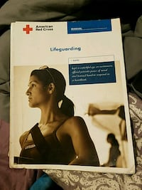 Red Cross Lifeguarding textbook