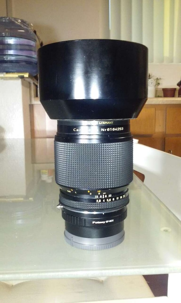 Carl zeiss lens with adapter for sony a7