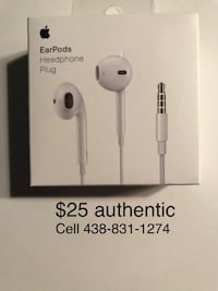 Brand New Authentic Apple Earpods 783 km