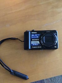 black Sony point-and-shoot camera Linganore, 21774