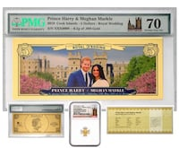 2018 $5 Cook Islands Royal Wedding Coin & Currency Set