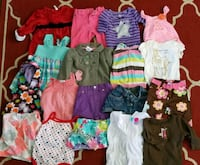 $1 each baby girl sizes 6-9mos  Copper Canyon