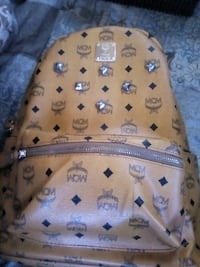 brown MCM leather backpack screenshot Inglewood, 90302