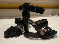 (New)Blk patent leather ankle strap high heel Suffolk, 23435