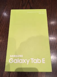 Samsung Galaxy Tab E Toronto, ON, Canada