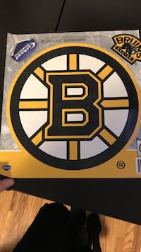 Boston bruins decal Centre Wellington, N1M 2G8