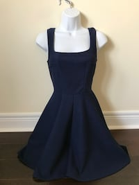 Mendocino navy blue cocktail dress size small  Toronto, M9C 1B8