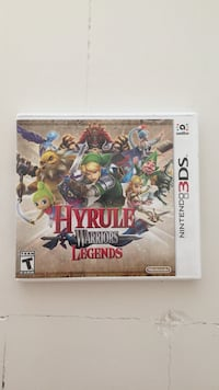 Hyrule warriors legends for 3DS, lite brukt og i god tilstand Stabekk, 1369