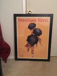 Parapluie-Revel-printed board with black frame