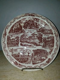 New Iberia, Louisiana collector plate Westmont, 60559