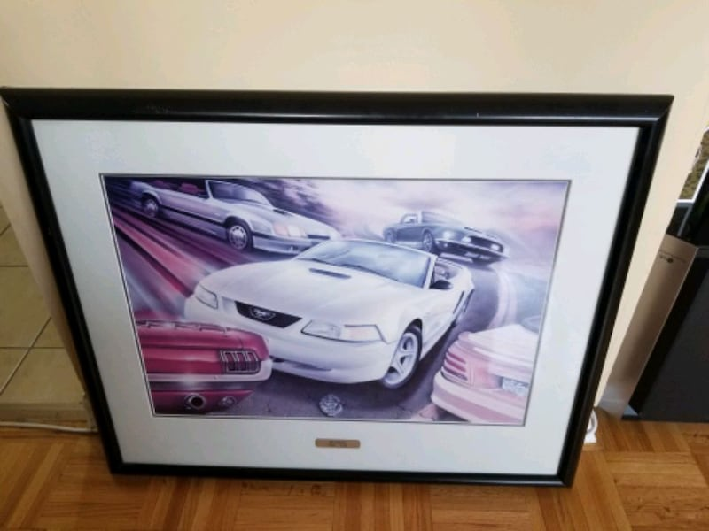 Ford Mustang limited print 1964 to 1999 384ec2b8-bd5c-4c37-b77a-f5bf90aa29a6