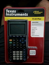 TI-83 Plus graphing calculator.  Long Beach, 90808