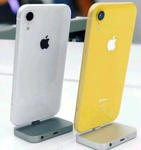 two white and yellow iPhone XR's Maryland