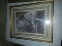 brown wooden framed painting of woman McMinnville, 37110
