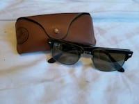 Polarized Ray Bans Square Clubmasters in Tortoise Gainesville