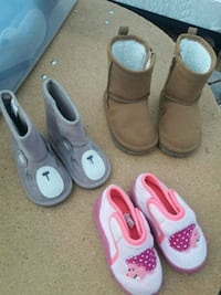 toddler's three pairs of shoes Silver Spring, 20906