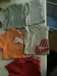Puma, nike, under armuor, size 4,5,XS, all for $5 Gettysburg, 17325