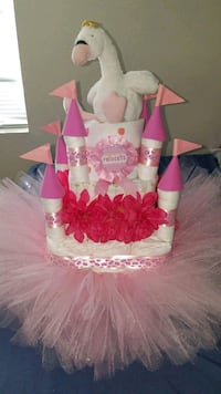 Princess Castle Diaper Cake  Henderson, 89014