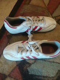 pair of white-and-red Adidas shoes Ontario, P3B 1H7