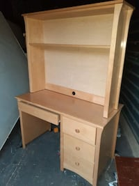 Desk with Hutch, Fullsize bed w Rails, Table, Shelves  $40 Matthews, 28105