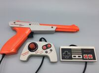 NES Controllers and Zapper Gun. Authentic and Tested North Aurora, 60542