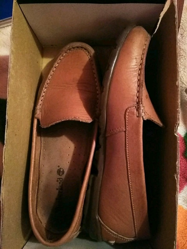 67908e47175 Used pair of brown leather loafers sz8 for sale in San Antonio - letgo