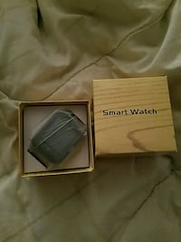 black smartwatch with box Reston, 20194